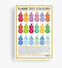Metal Ion Flame Test Colours Metal Print
