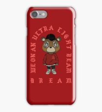 Ultra Light Beam x Yeezy S3 Bear iPhone Case/Skin