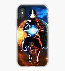 Vinilo o funda para iPhone Universo Aang