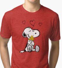 Snoopy sketch Tri-blend T-Shirt