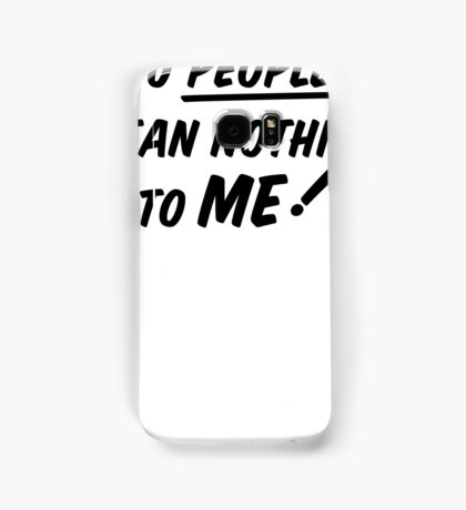 YOU PEOPLE (black text)  Samsung Galaxy Case/Skin