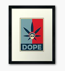 Dope Products (Literally)  Framed Print