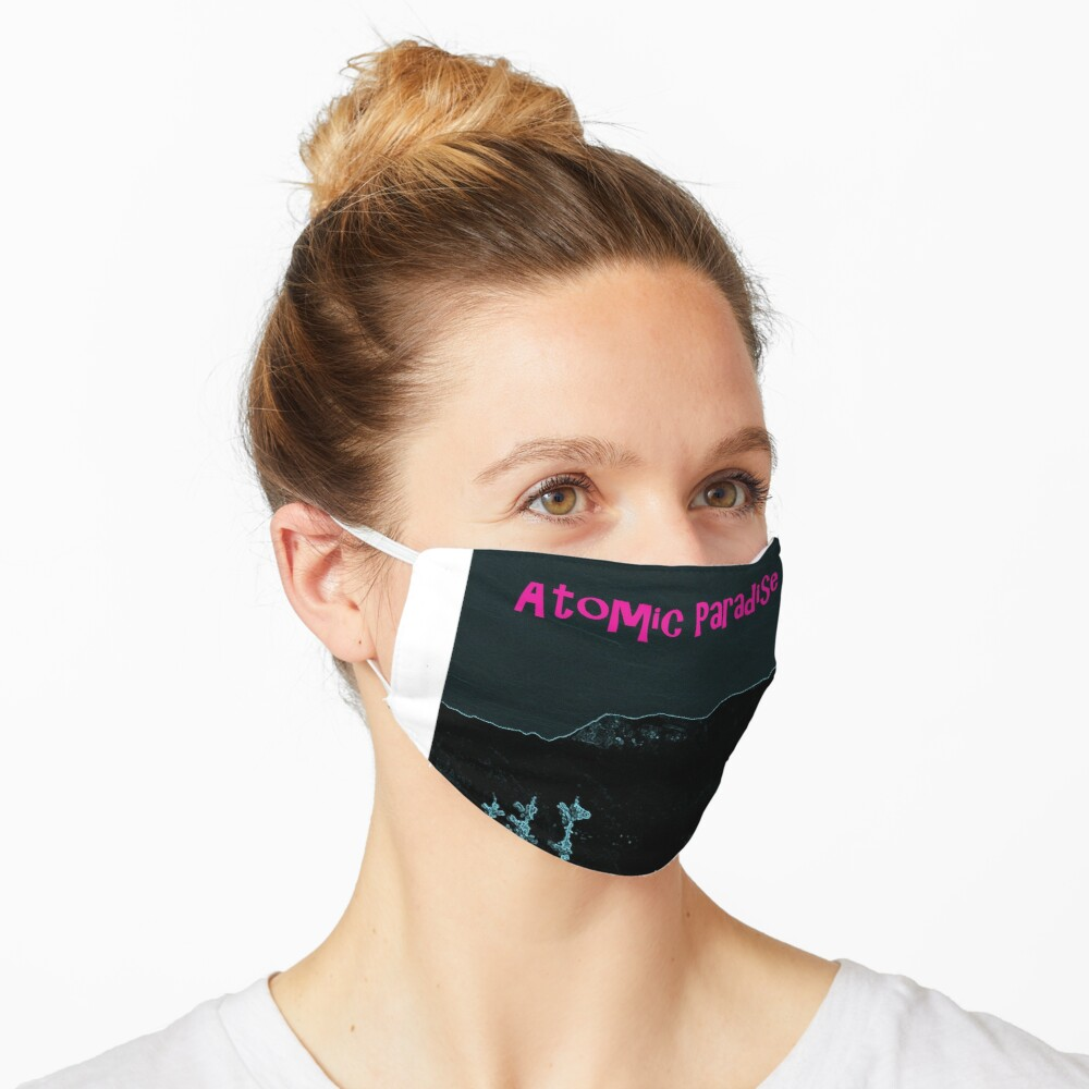 Atomic Paradise book release Mask