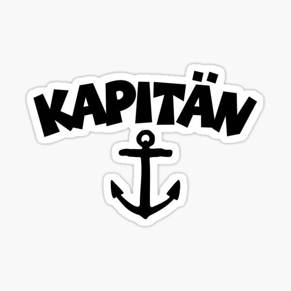 Kapitän Anker Sticker