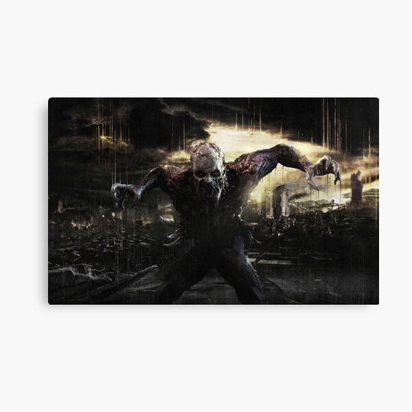 Dying Light Zombie Canvas Print