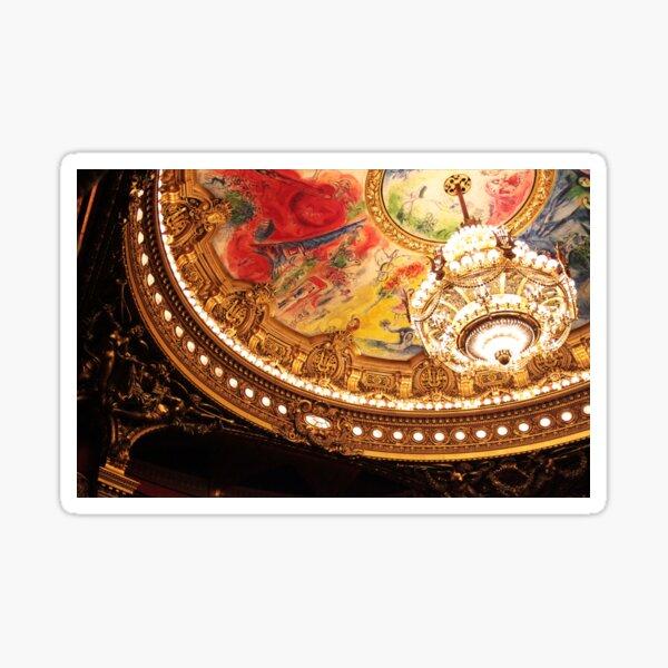 Paris Opera Chandelier Sticker