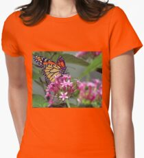 Monarch in pink ixora T-Shirt
