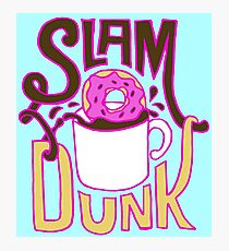 Slam Dunk Photographic Print
