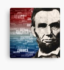 Patriot Abraham Lincoln Canvas Print