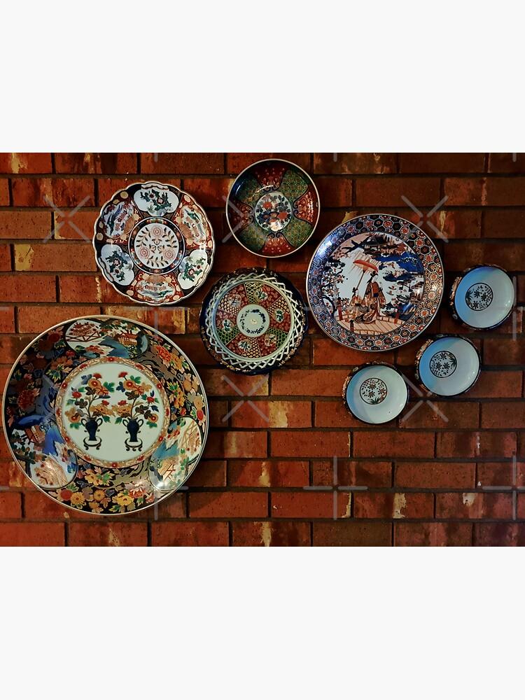 Japanese Plate and Pottery Art by TheKayToday