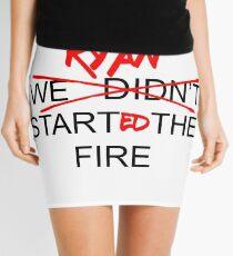 Das Büro USA - Ryan begann das Feuer Minirock