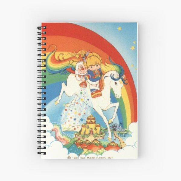 Rainbow brite stardust Spiral Notebook
