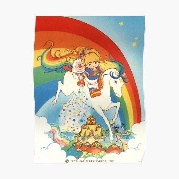 Rainbow brite stardust Poster