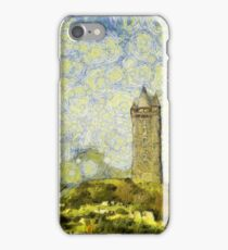 Starry Scrabo Tower iPhone Case/Skin