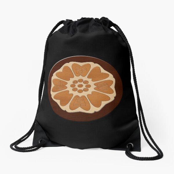 Order of the White Lotus Drawstring Bag