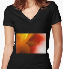 Warmth Women's Fitted V-Neck T-Shirt