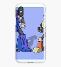 Transformers Pipes and Hubcap iPhone Case