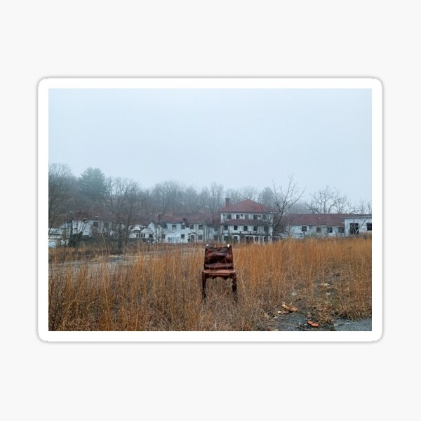 Chair No. 2: Deerpark, NY Sticker