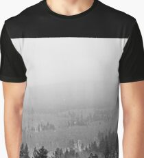 Peak to Peak Highway Snowstorm Study 2  Graphic T-Shirt