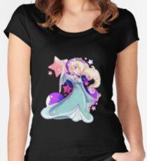 Sternenklarer Rosalina Tailliertes Rundhals-Shirt