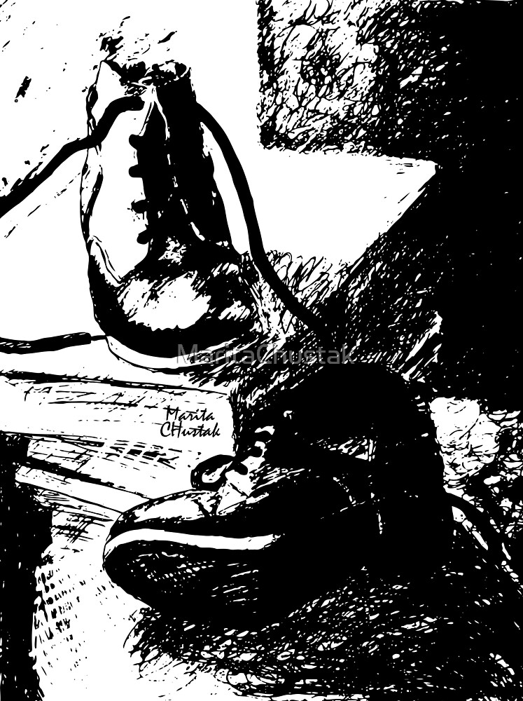 Shoes and Books by MaritaChustak