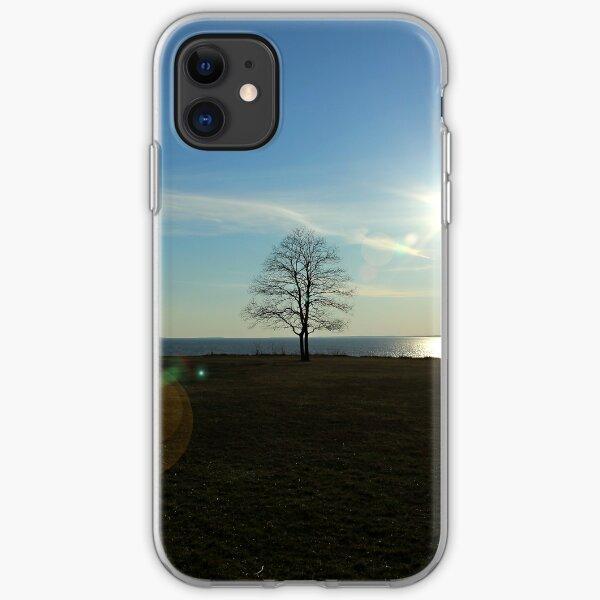 Near the edge iPhone Soft Case