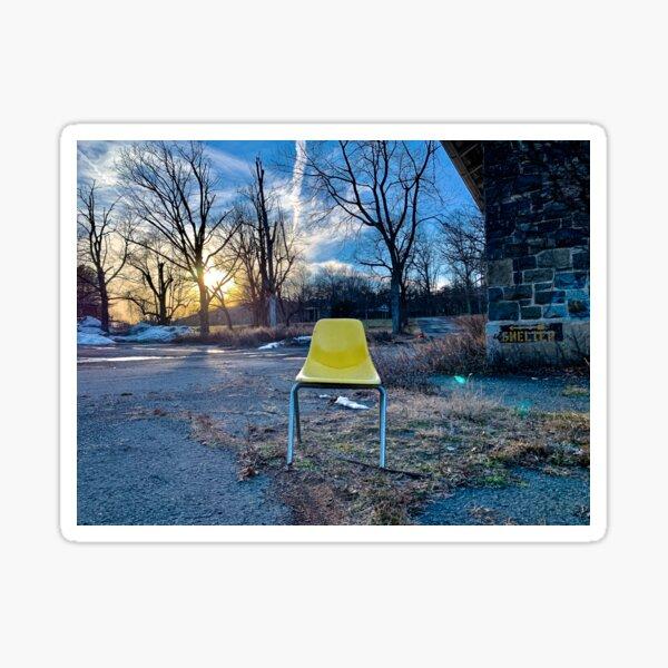Chair No. 2: Haverstraw, NY Sticker