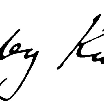 Stanley kubrick signature by EnjoyRiot