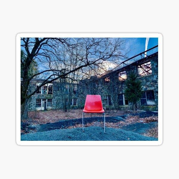 Chair No. 1: Haverstraw, NY Sticker
