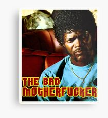 "Pulp Fiction- Jules ""The Bad Motherfucker"" Metal Print"
