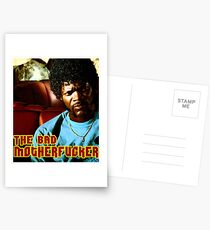 "Pulp Fiction- Jules ""The Bad Motherfucker"" Postcards"