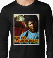"Pulp Fiction- Jules ""The Bad Motherfucker"" Long Sleeve T-Shirt"