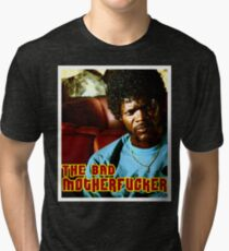 "Pulp Fiction- Jules ""The Bad Motherfucker"" Tri-blend T-Shirt"