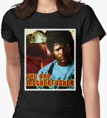 """Pulp Fiction- Jules """"The Bad Motherfucker"""" Womens Fitted T-Shirt"""