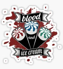 Blood & Ice Cream - Colour Sticker