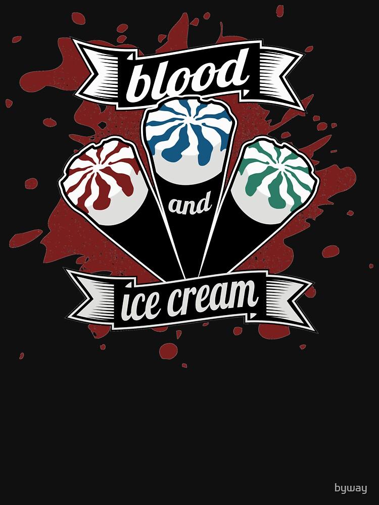 Blood & Ice Cream - Colour | Unisex T-Shirt