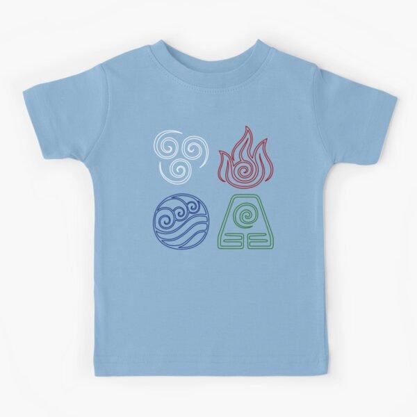 Four Elements Minimalist Kids T-Shirt