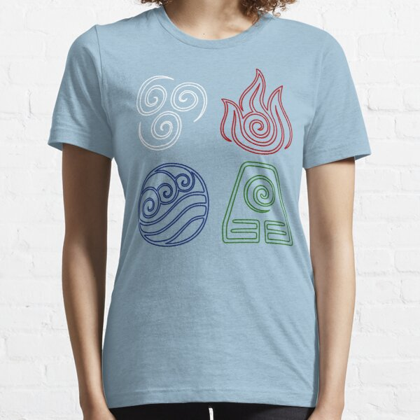 Four Elements Minimalist Essential T-Shirt