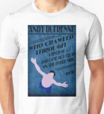 Andy Dufresne - The Shawshank Redemption T-Shirt