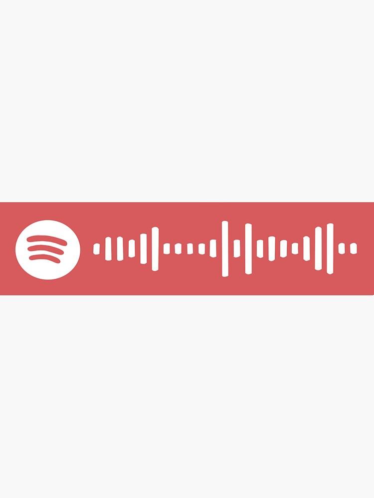 Turning page Spotify Scan Code  by Kakuhnhausen