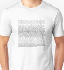 Smash Mouth - All Star lyrics T-Shirt