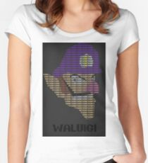 Wah - Waluigi Fitted Scoop T-Shirt