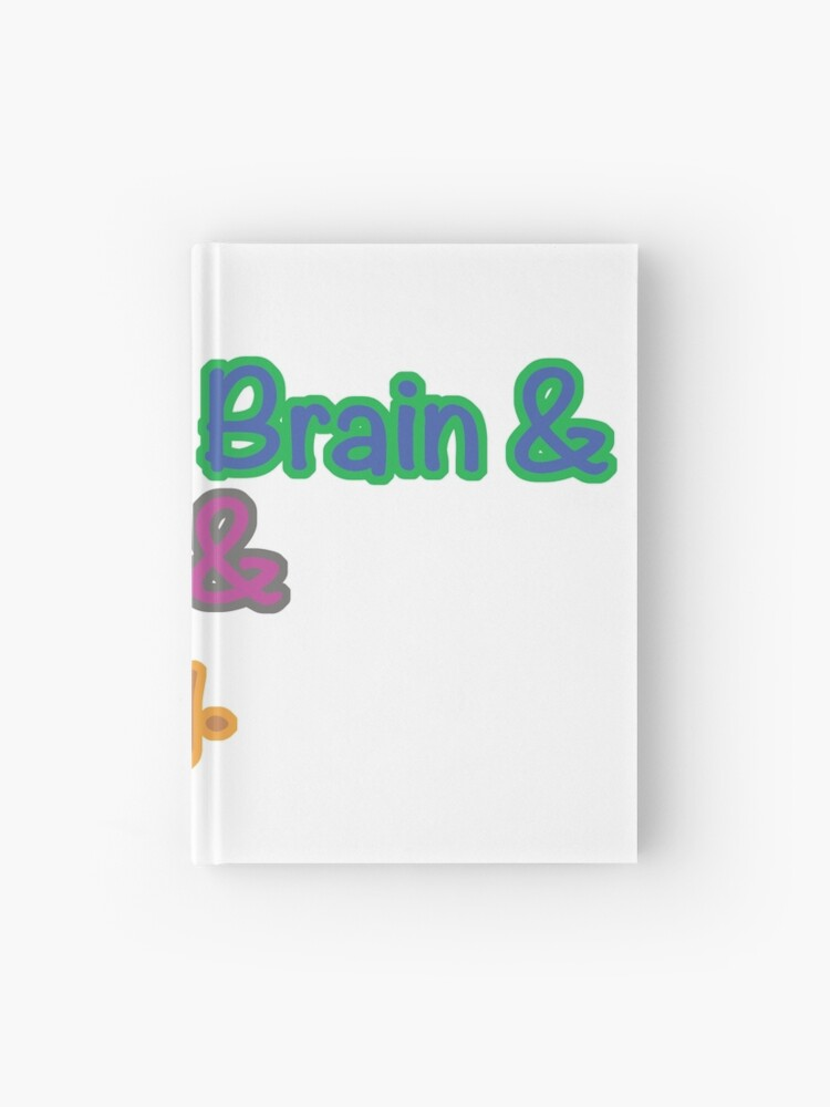 Seaweed Brain Wise Girl Goat Boy Hardcover Journal