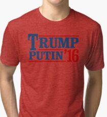 Trump Putin 2016 Tri-blend T-Shirt