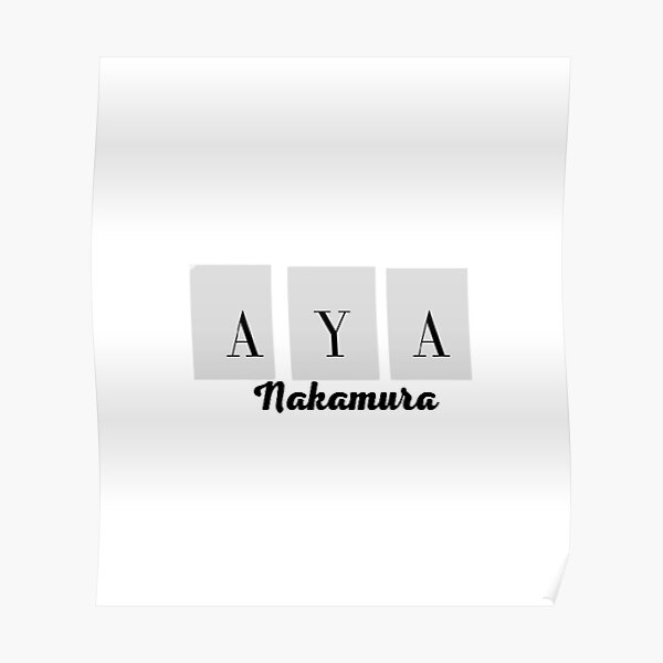 Aya Nakamura Collection Édition special  Poster