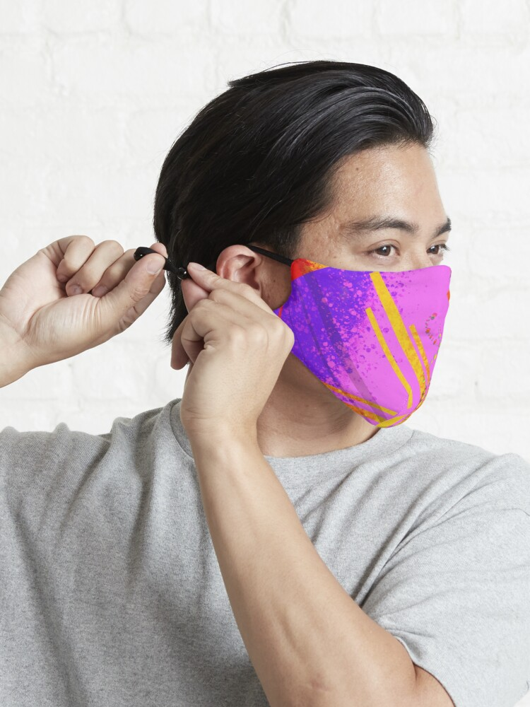 Alternate view of Sunny Daze but make it funky Mask