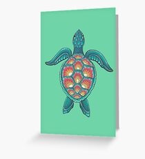 Mandala Turtle Greeting Card