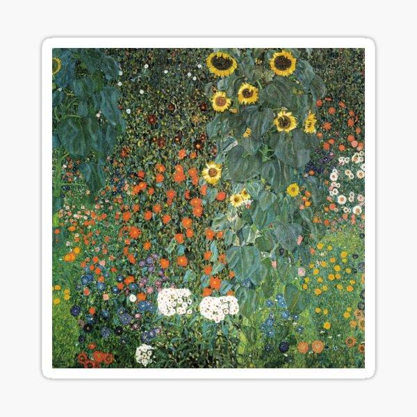 Gustav Klimt - The Sunflower Sticker
