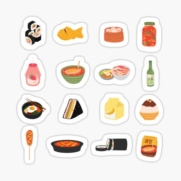 Asian Food Sticker Pack Sticker