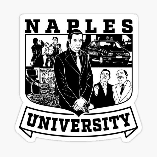 Napoli University - The Sopranos Sticker